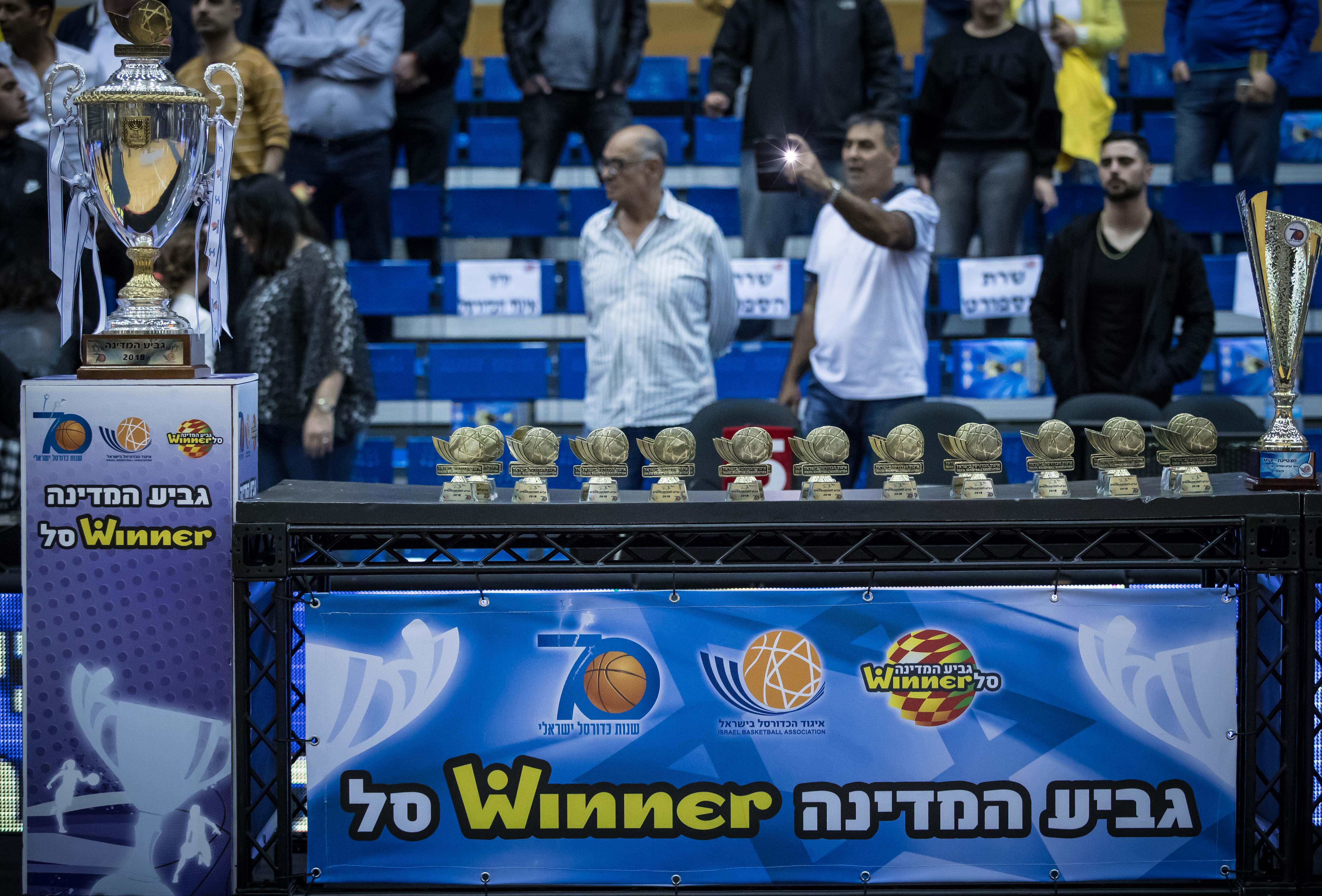 בחמישי יתקיימו משחקי רבע גמר גביע המדינה ווינר סל לנשים