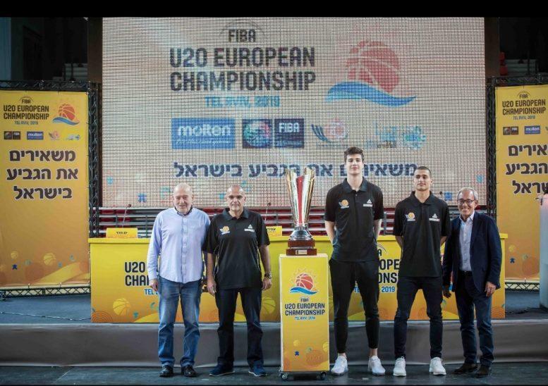 יצא לדרך קמפיין אליפות אירופה לנבחרות עתודה 2019 שיתקיים הקיץ בישראל