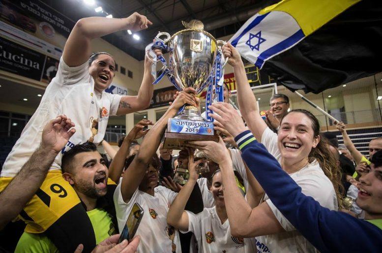 אליצור רמלה היא מחזיקת גביע המדינה ווינר סל לנשים לעונת 2018/19