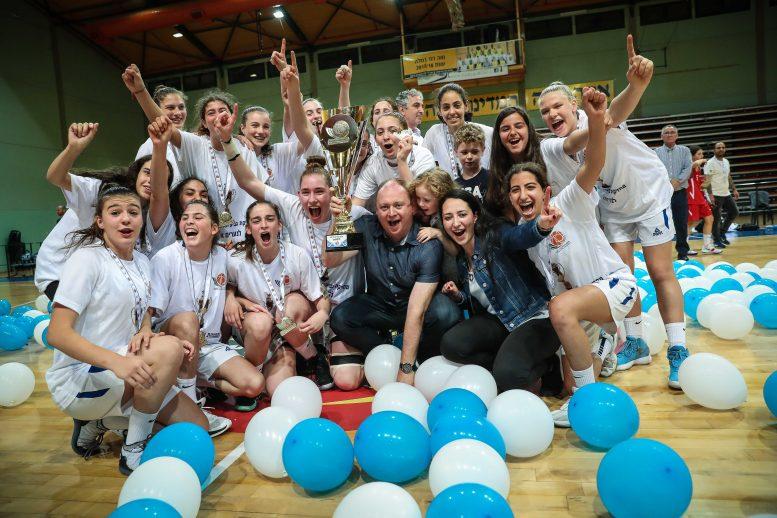 מכבי רעננה היא מחזיקת גביע המדינה לילדות לעונת 2018/19