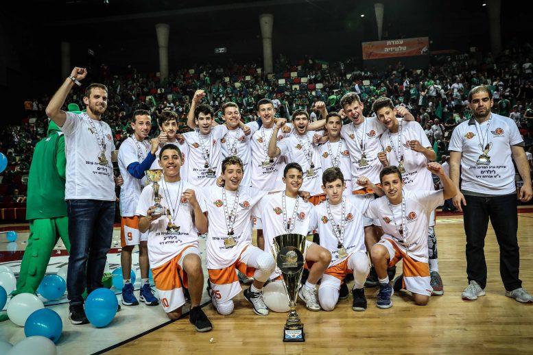 הפועל נס ציונה היא מחזיקת גביע המדינה לילדים לעונת 2018/19