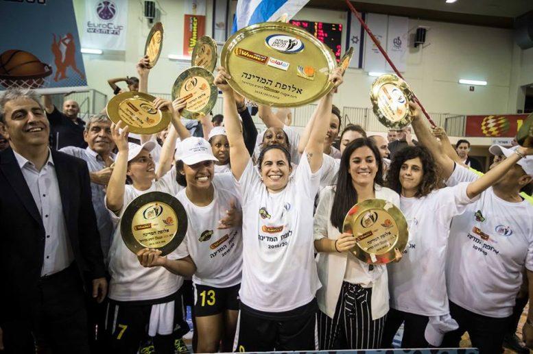 אליצור רמלה היא אלופת המדינה בכדורסל נשים לעונת 2018/19