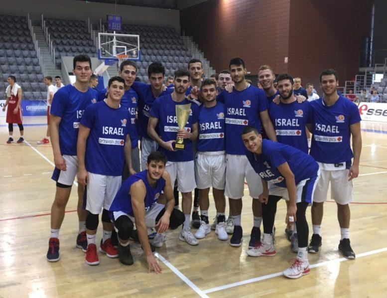 נבחרת העתודה: גברה על קרואטיה 81-83 וזכתה בטורניר