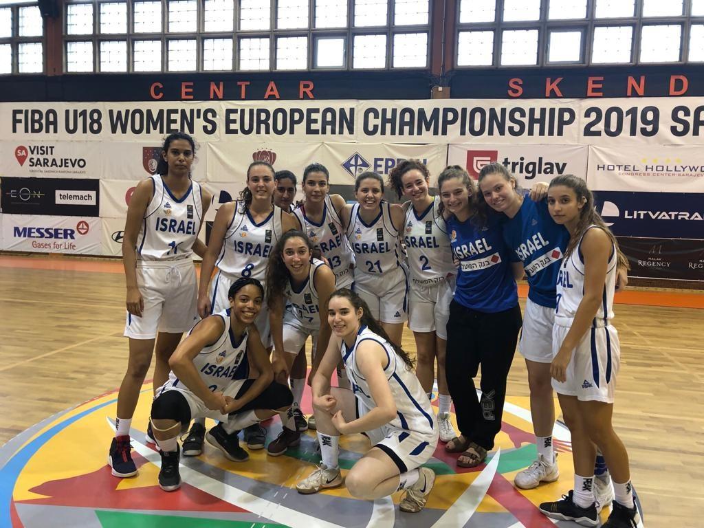 נבחרת הנערות: סיימה את אליפות אירופה במקום ה-11