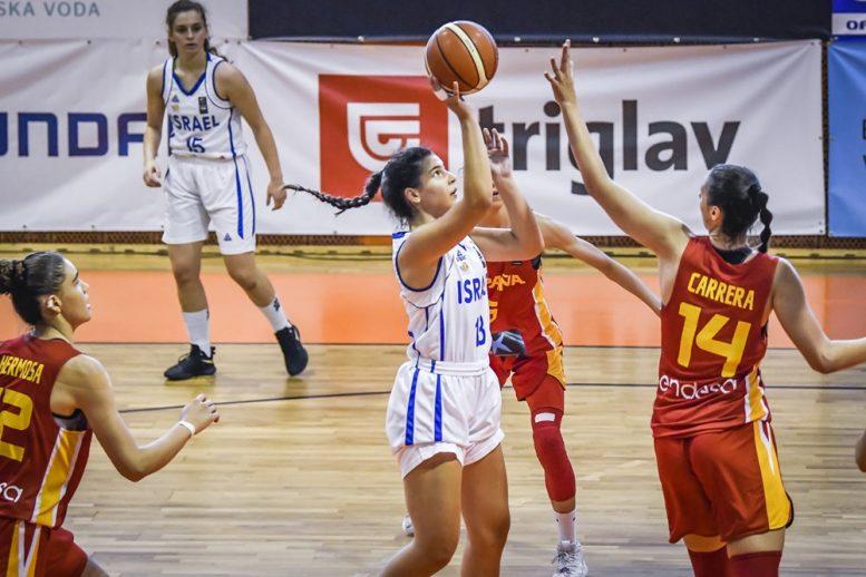 נבחרת הנערות: הפסד שלישי באליפות אירופה; נוצחה על ידי ספרד