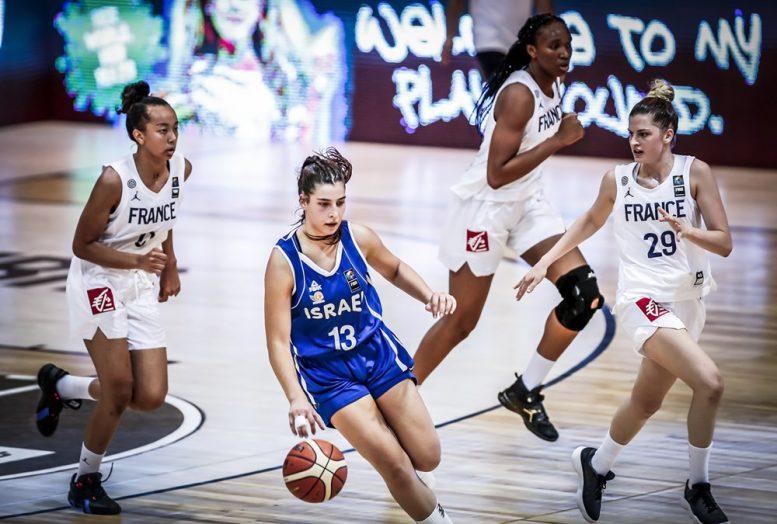 נבחרת הנערות: הפסד מול צרפת במשחק הפתיחה של אליפות אירופה