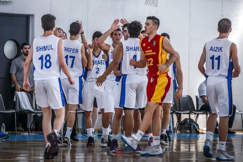 נבחקת הקדטים: ניצחון על צפון מקדוניה; סיימה את האליפות במקום ה-11