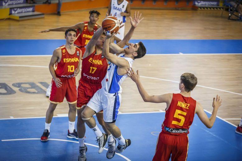 נבחרת הקדטים: הפסד מול ספרד; תתמודד בשלב הבא מול קרואטיה