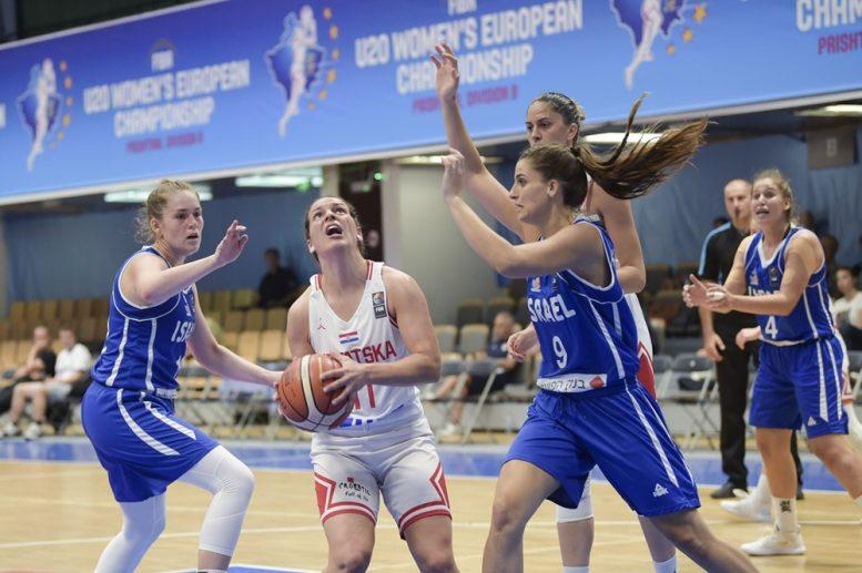 נבחרת העתודה נשים: הפסד מול בריטניה; תתמודד על מקומות 8-5