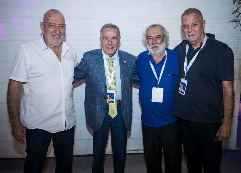 איגוד הכדורסל מצדיע לחברי הנהלת האיגוד לדורותיהם ומציין 70 שנה לכדורסל הישראלי