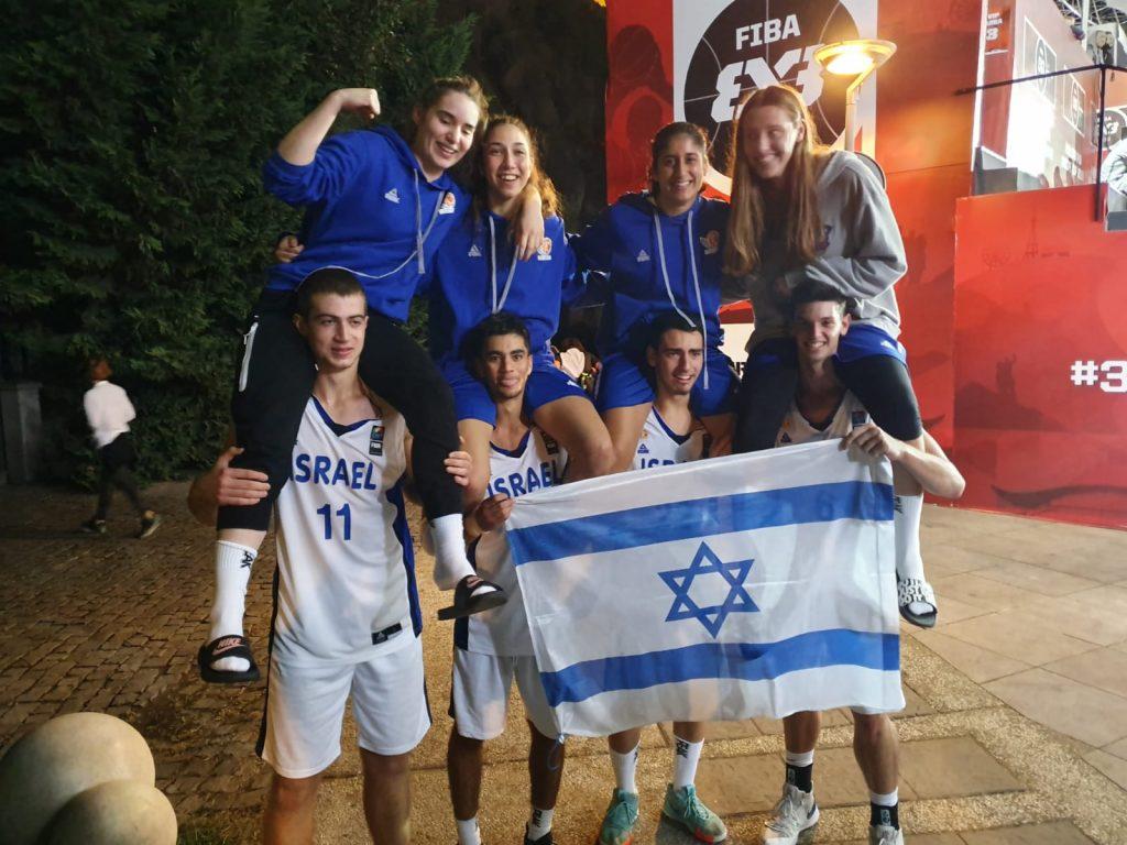אליפות אירופה לנוער 3 על 3: מדליית ארד לנבחרת הבנים