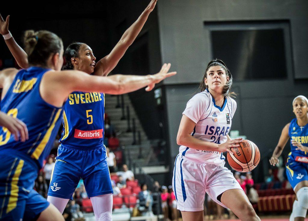 מוקדמות יורובאסקט 2021 לנשים: הפסד לנבחרת ישראל מול שבדיה
