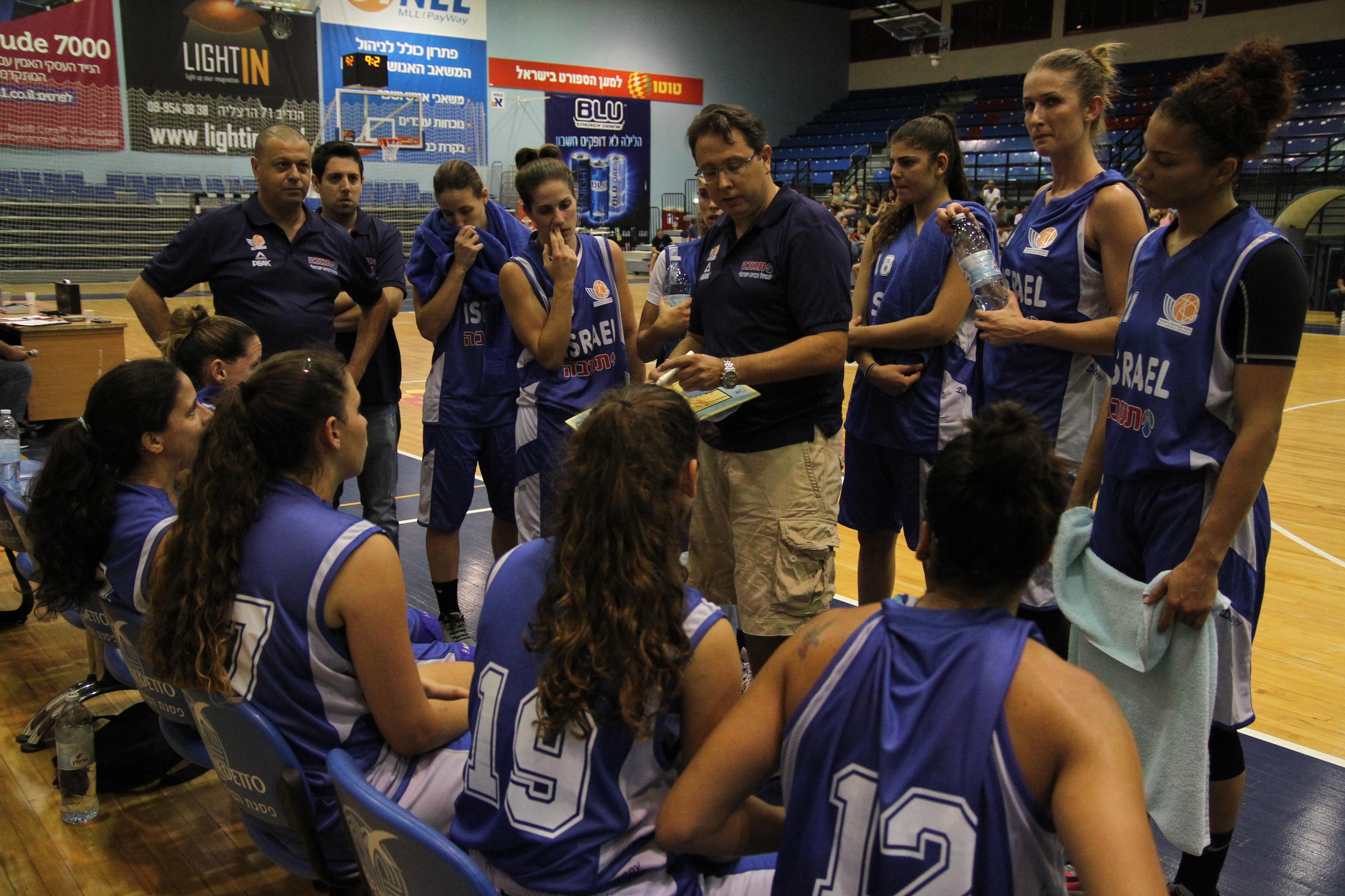 נבחרת הנשים הפסידה לבנות הרצליה 72-66
