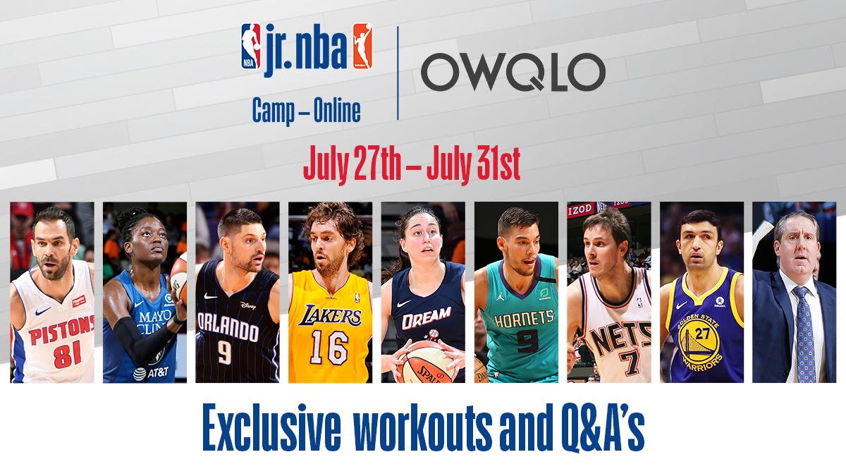 לראשונה מחנה NBA ג'וניור אונליין